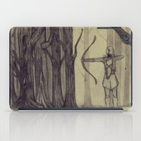 legolas iPad Cases featuring Legolas LOTR - the noisy silence of woods by Blanca MonQnill Sole