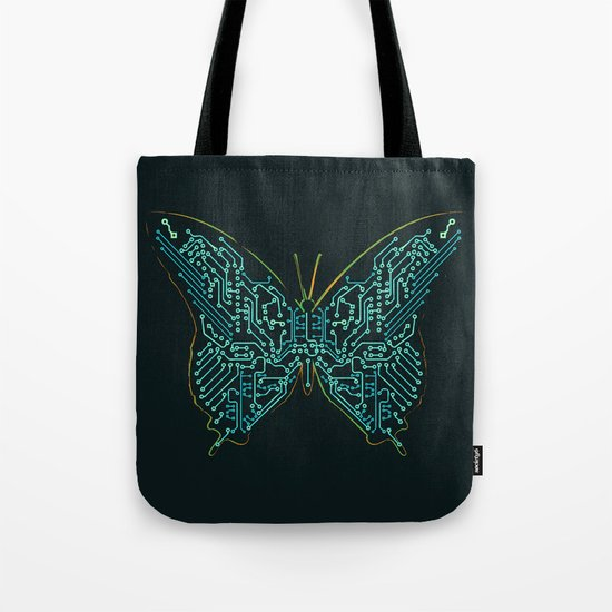 Mechanical Butterfly Tote Bag