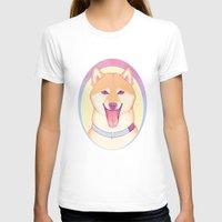 shiba T-shirts featuring Shiba Inu by daftmue