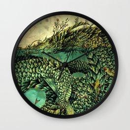 Yangtze River Dragon Wall Clock