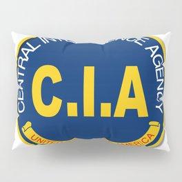 CIA Logo Mockup Pillow Sham