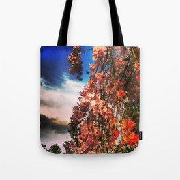 Cherry Bumble Tote Bag