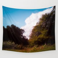 woodland Wall Tapestries featuring Woodland by Natural Outlook