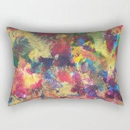 Vibrant Leaves Rectangular Pillow