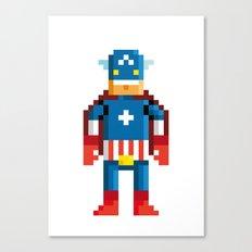 Pixelman America Canvas Print