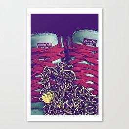 Liu Kang (Kicks) [Color] Canvas Print