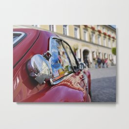 Oldtimer Car: MG MGC TT Metal Print