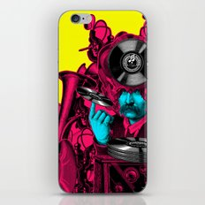 In lectro We Trust /ANALOG ZINE iPhone & iPod Skin