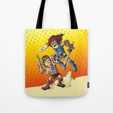 Duel! Tote Bag