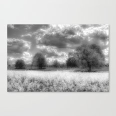 The Peaceful Farm Infrared  Canvas Print