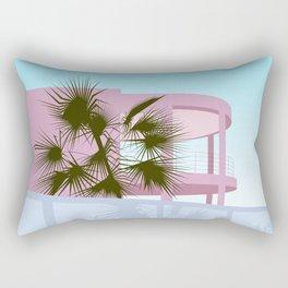 Art Deco Beach House Rectangular Pillow