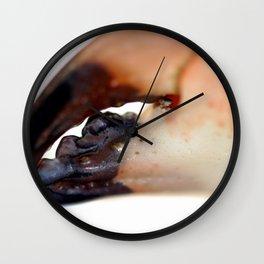 Crab Pincer Wall Clock