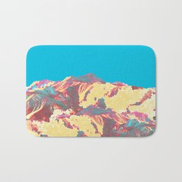 She came down from the mountain ... and she was pissed! Bath Mat