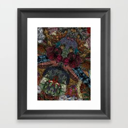 Psychedelic Botanical 14 Framed Art Print