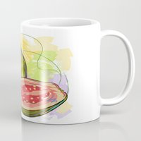 vietnam Mugs featuring Vietnam Guava by Vietnam T-shirt Project