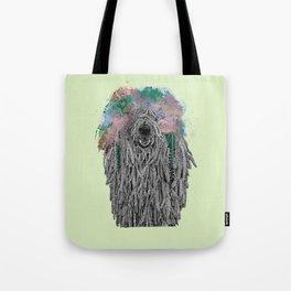 Dredlock Dog (Pastel Green Edition) Tote Bag