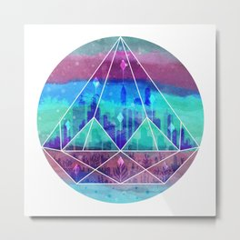 The Lost City Metal Print