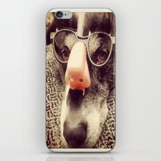 Hiding behind a disguise. iPhone & iPod Skin