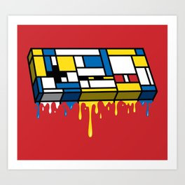 The Art of Gaming Art Print