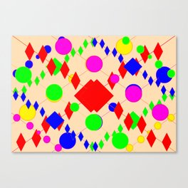 Escalation #3 Canvas Print