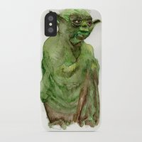 yoda iPhone & iPod Cases featuring Yoda by Catherine Johnson