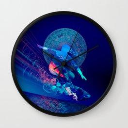 sky surfer Wall Clock