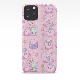 Kirby Gamer iPhone Case