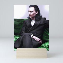 Loki - A Study in Seduction I Mini Art Print