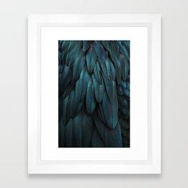 DARK FEATHERS Framed Art Print