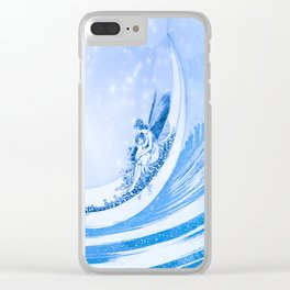 MOONLIGHT FAIRY Clear iPhone Case
