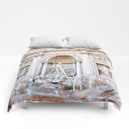 Fontana di Trevi Comforters