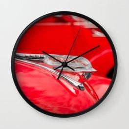 Plymouth ornament Wall Clock
