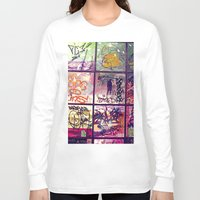 graffiti Long Sleeve T-shirts featuring graffiti by maedel