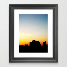 structure or paradise  Framed Art Print
