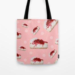 Strawberries cake Tote Bag