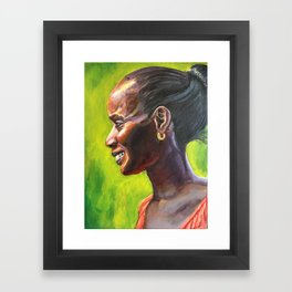 Dominique Framed Art Print