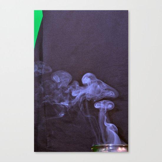Purple Puff Canvas Print