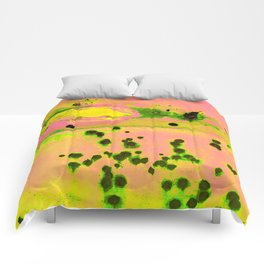 Riddled with Rust Passionfruit Comforters