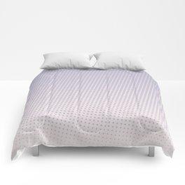 Lilac Halftone Comforters