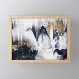 Abstract Flow 02 Framed Mini Art Print