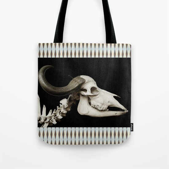 Cattle Skull 4 Tote Bag