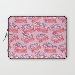 Birthday Cake - Pink BG Laptop Sleeve