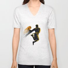 Basketball  Unisex V-Neck