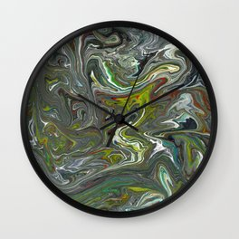 Abstract Oil Painting 15 Wall Clock