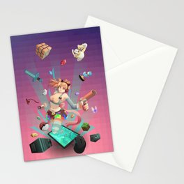 Geek play Stationery Cards