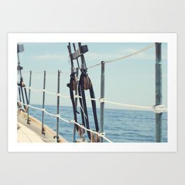 It's a Maine Kind of Day Art Print