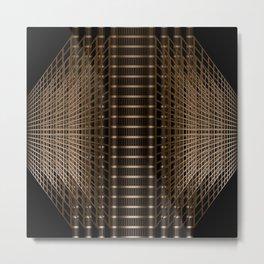 Metal grid Metal Print