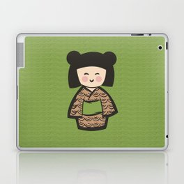 Geisha Dress Code (green) Laptop & iPad Skin