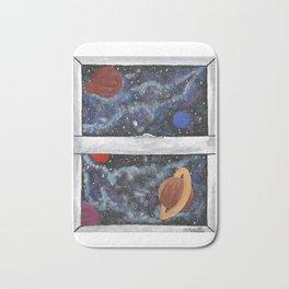 Window To The Galaxy Bath Mat