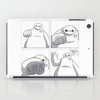 big hero 6 iPad Cases featuring Big Hero 6 - Baymax  by MarcoMellark